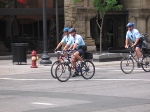 Minneapolis mountain bike cops