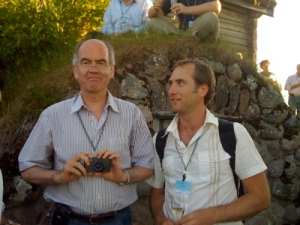 John Elkington and me